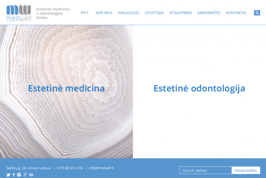 Website MedWell